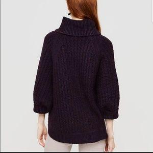 Lou & Grey Oversized Poncho Style Sweater
